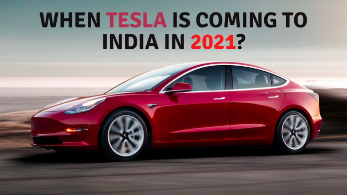 When is Tesla Coming to India