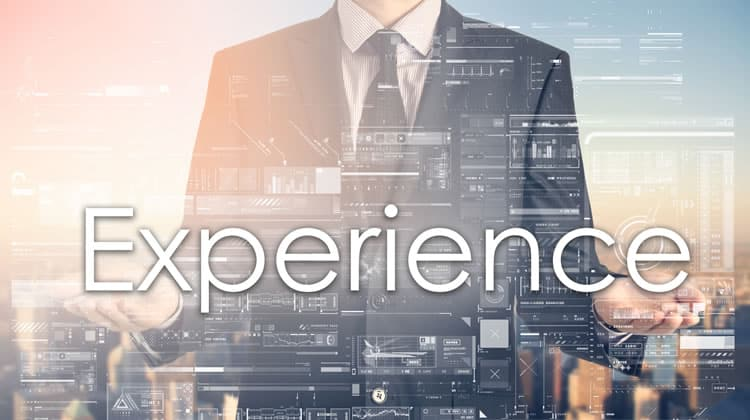 Why experience is important