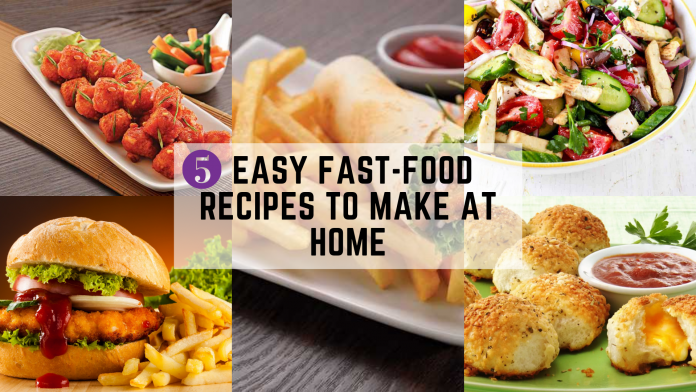 fast food recipes to make at home