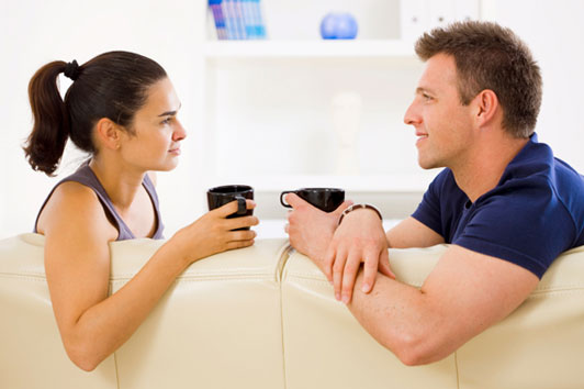 Share some major problems with your partner